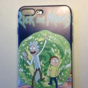 Accessories - Rick & Morty Iphone 8 plus cover-new